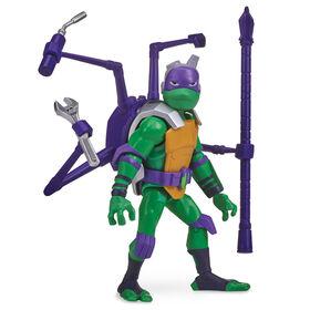 Rise of the Teenage Mutant Ninja Turtles, Figurine articulée Donatello avec carapace d'araignée