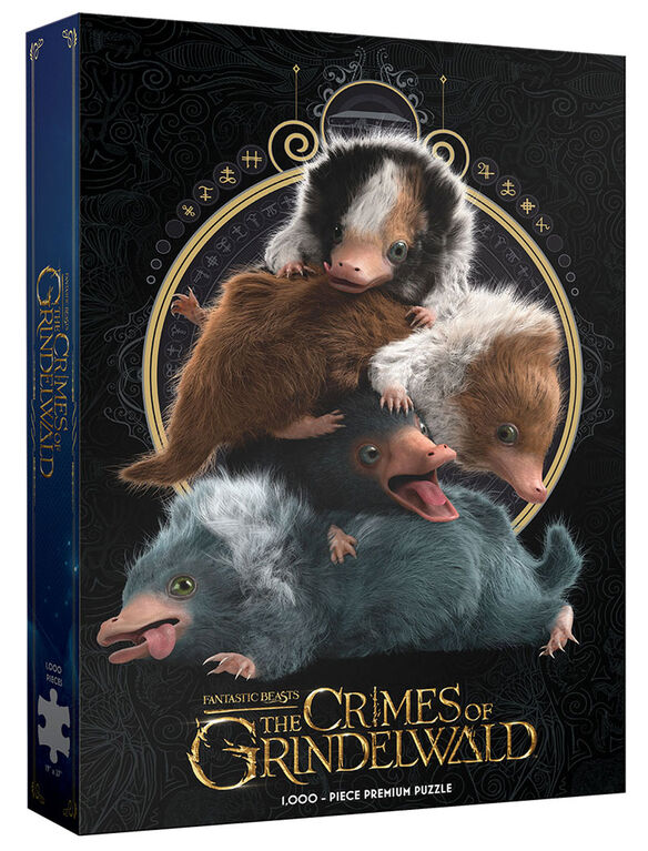 """Fantastic Beasts """"Baby Nifflers"""" 1000 Piece Puzzle"""