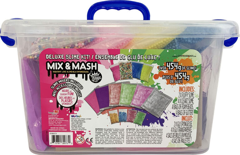 Compound Kings - Mix & Mash Deluxe Slime Kit