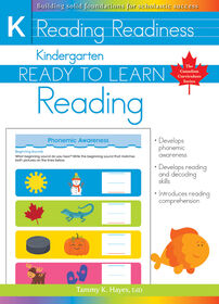 Kindergarten - Ready To Learn Reading - Édition anglaise