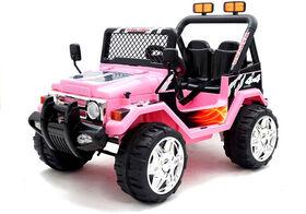 Kidsquad Wrangler Style 12V Pink