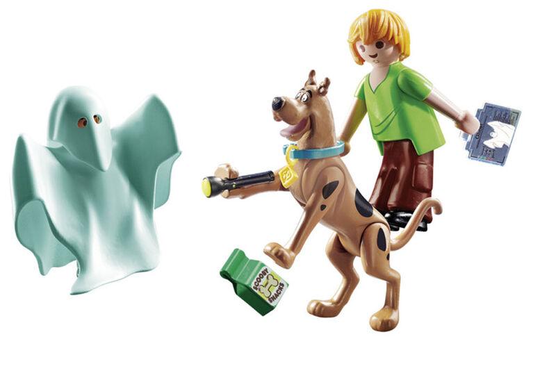 Playmobil SCOOBY-DOO! Scooby & Sammyy avec fantôme 70287