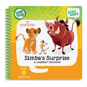 LeapFrog LeapStart The Lion King Simba's Surprise - English Edition