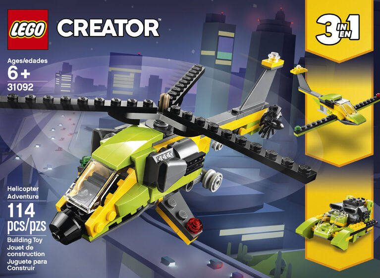 LEGO Creator L'aventure en hélicoptère 31092