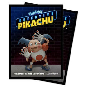 Pokémon: Detective Pikachu - Mr. Mime Deck Protector sleeves