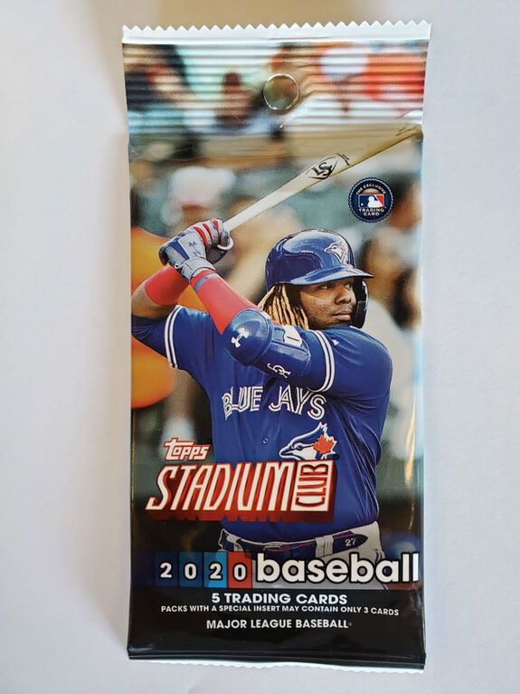 Booster 2020 Stadium Club MLB