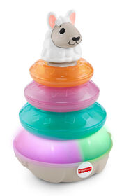 Fisher-Price Linkimals Lights & Colors Llama - English Edition