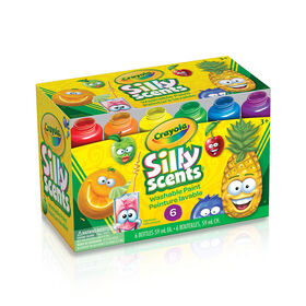 Crayola Silly Scents Washable Kids' Paint, 6 ct