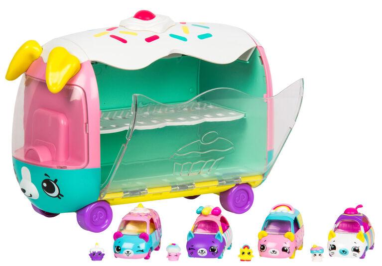 Shopkins Cutie Cars Play 'N' Display Rainbow Cake Racer