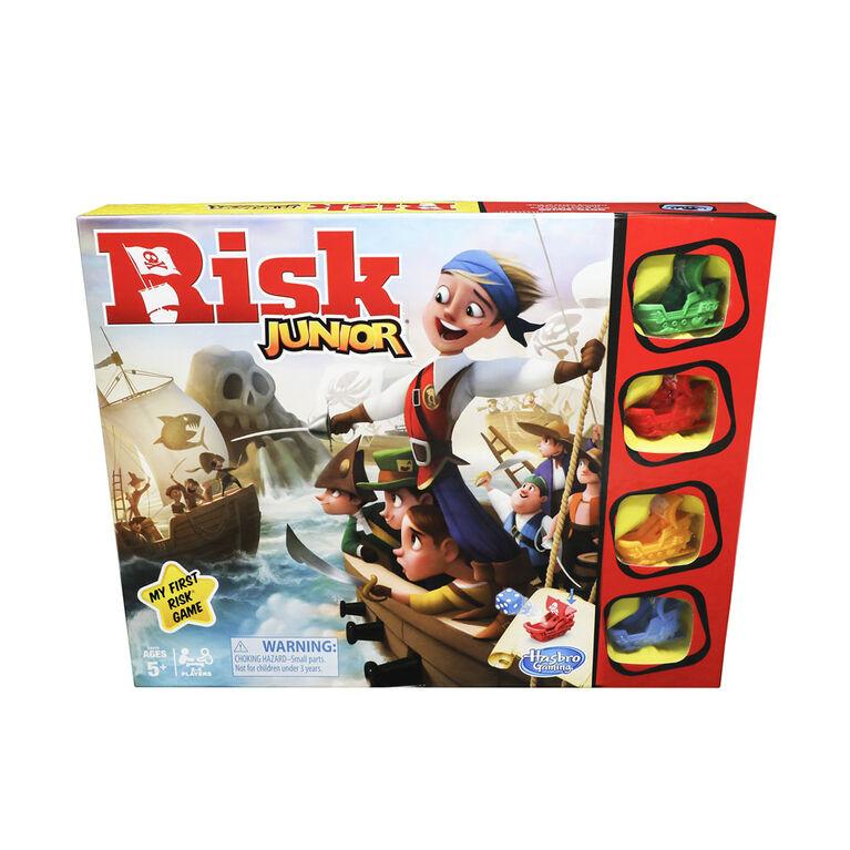 Risk Junior: Jeu de stratégie - les motifs peuvent varier