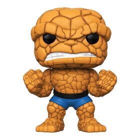Figurine en Vinyle The Thing Par Funko POP! Rick and Marvel Comics Fantastic Four - Notre exclusivité