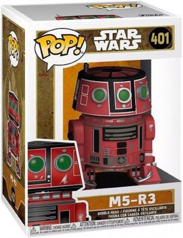 Figurine en Vinyle M5-R3 par Funko POP! Star Wars - Notre exclusivité