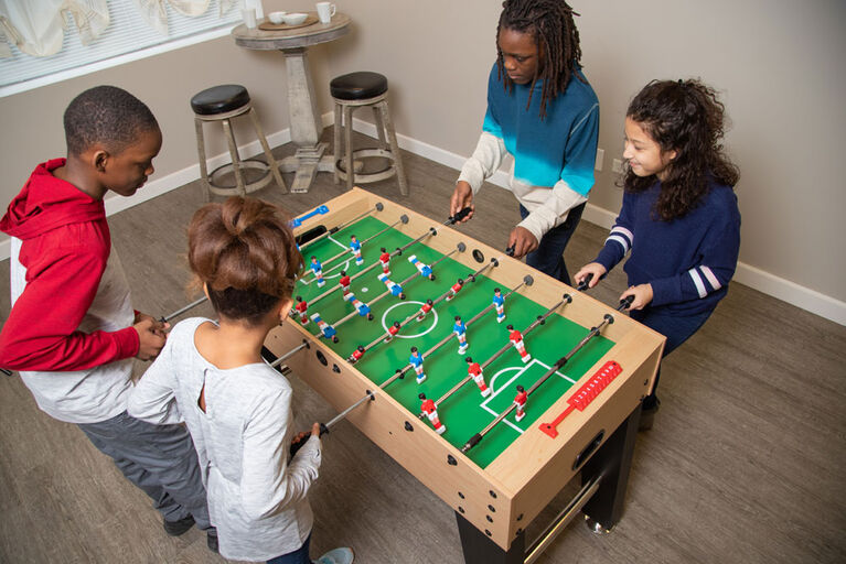 Metropolis 48 Inch Foosball Table - Maple