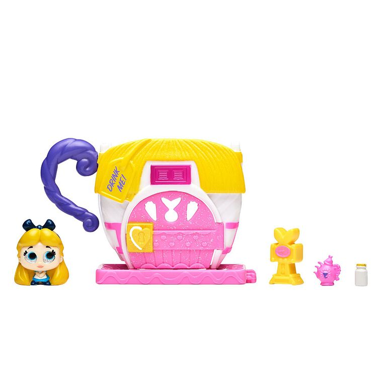 Disney Doorables Mini Stack Playset - Alice's Teacup