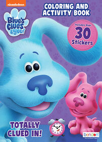 Blues Clues & You Coloring andActivity Book with Stickers - English Edition