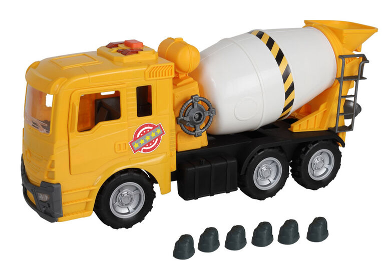 Giant Cement Truck