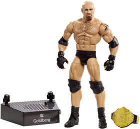 WWE - Entrance Greats - Figurine articulée - Goldberg - Édition anglaise.