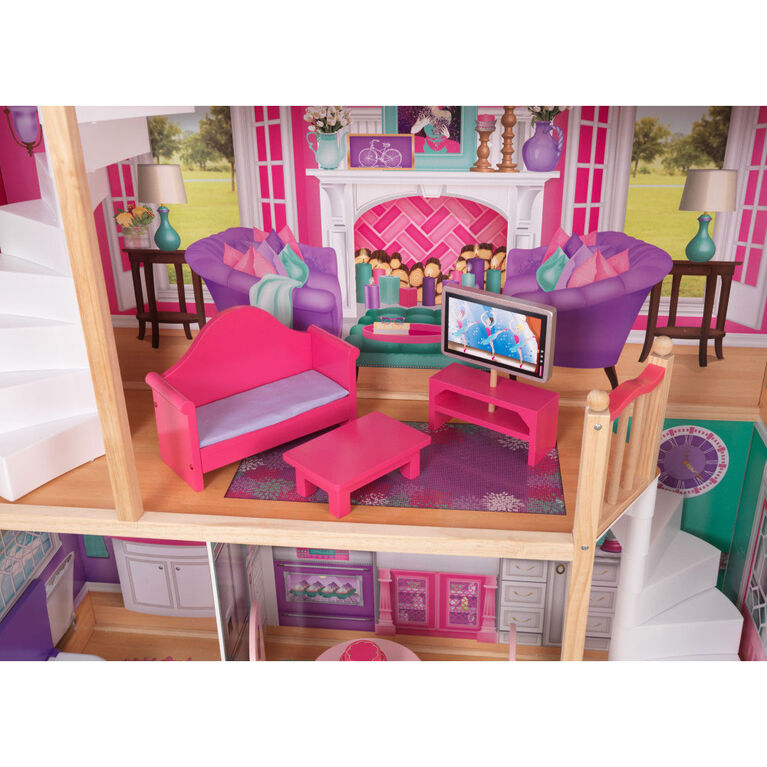 KidKraft - 18-Inch Dollhouse Doll Manor