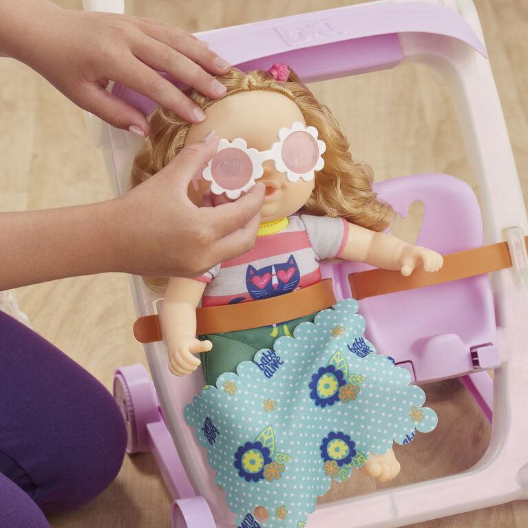 Little de Baby Alive, Poussette et Petite Ana