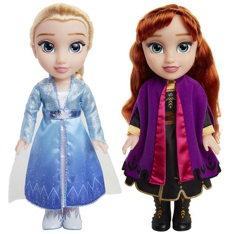 Frozen 2 Feature Anna & Elsa Doll 2 Pack - Notre exclusivité