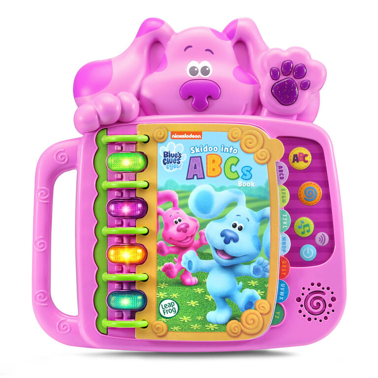 LeapFrog Blue's Clues & You! Skidoo Into ABCs Book (Magenta) - English Edition