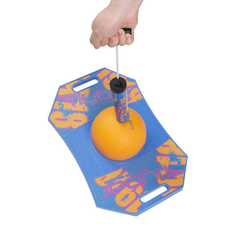 Flybar Trick Board with Pump for Ages 6 and Up (Blue Dawn)