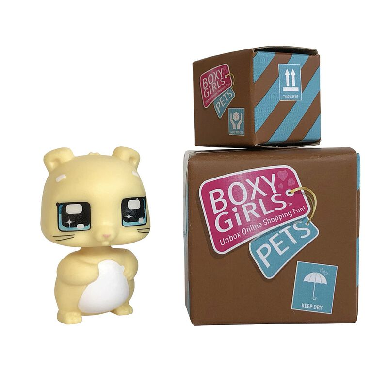 Boxy Girls Pets - Yummies