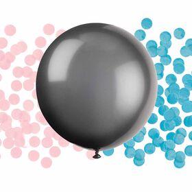"Gender Reveal Latex Balloon/Confetti 24"""