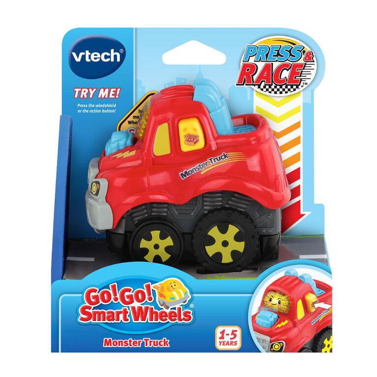 VTech Go! Go! Smart Wheels Press & Race Monster Truck - English Edition
