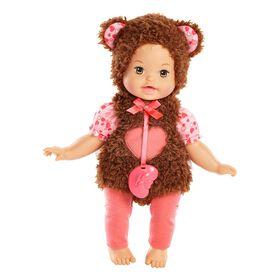 Little Mommy - Mon bébé costumé - Poupée Tendre Ourson.