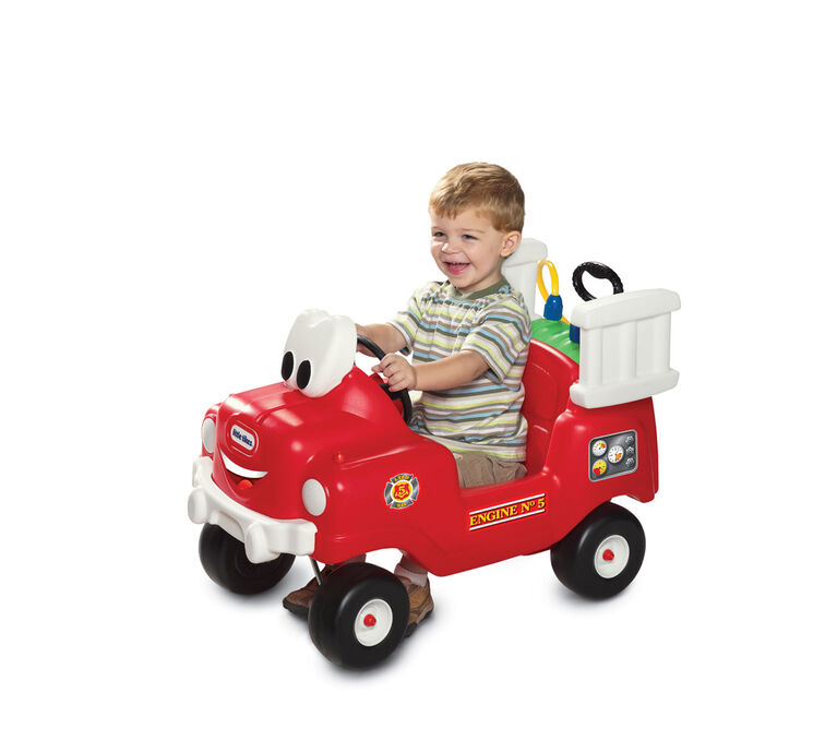 Little Tikes - Spray & Rescue Fire Truck