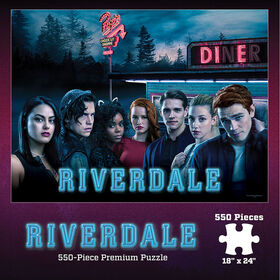"""Riverdale """"Pop's Diner"""" 550 Piece Puzzle"""