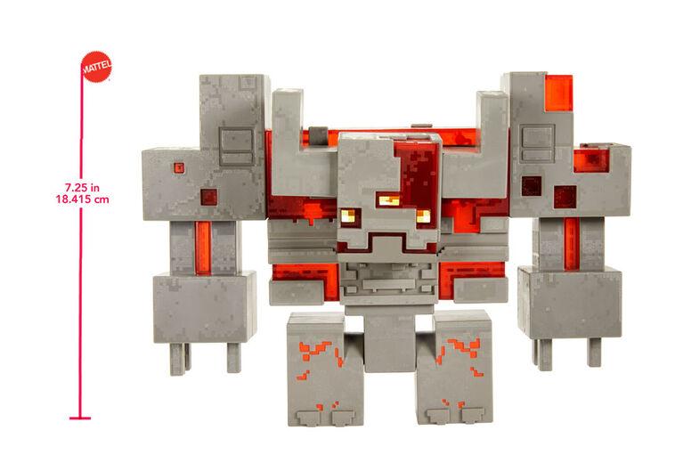 Minecraft Dungeons Redstone Monstrosity Figure