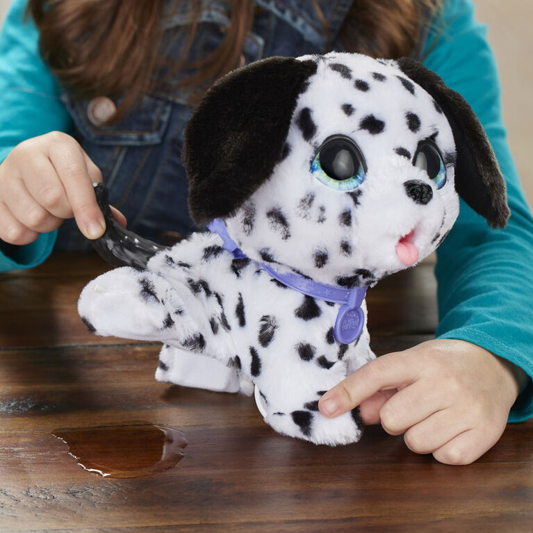 furReal Peealots Big Wags Interactive Pet Toy, Connectible Leash System