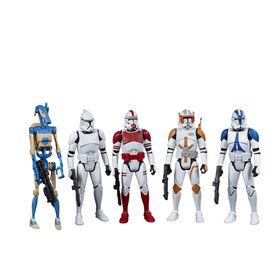 Star Wars Celebrate the Saga, Galactic Republic, figurines articulées de 9,5cm, 5figurines à collectionner