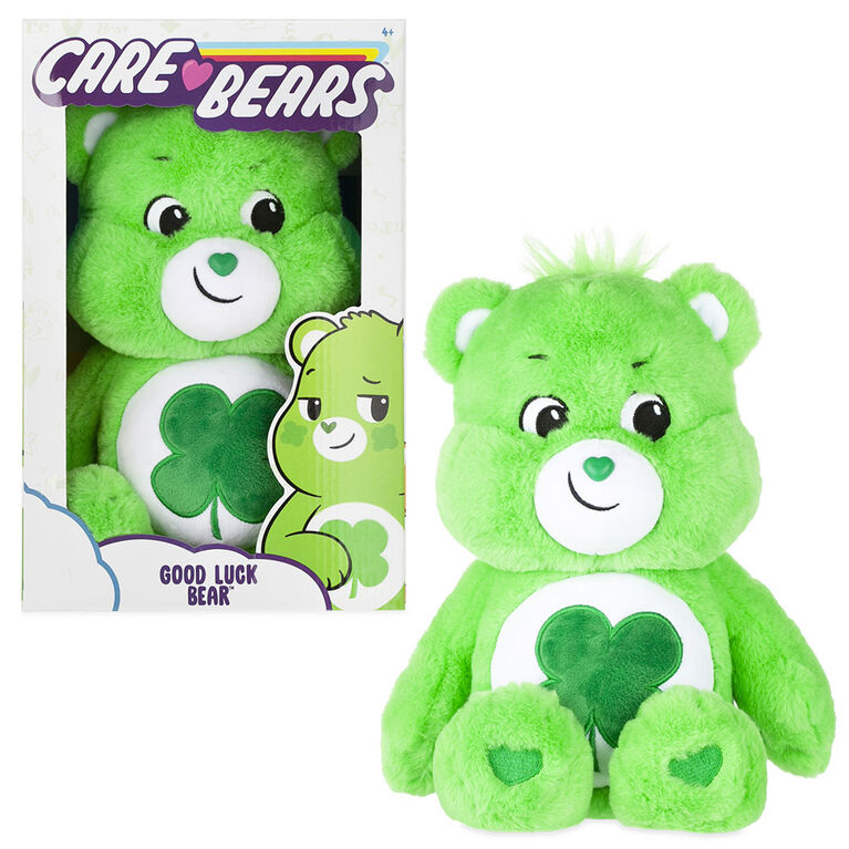 Care Bears Medium Plush - Good Luck Bear
