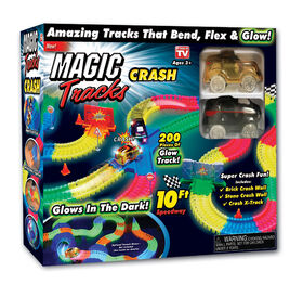 Magic tracks collision.