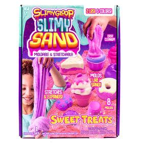 Sweet Treats Slimygloopslimysand Kit