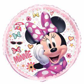 "Minnie Mouse Round Foil 18"""