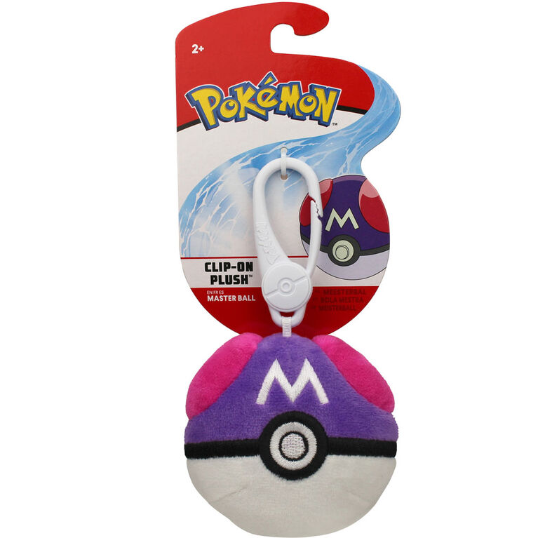 Peluche Pokémon à pince - Ballon maître - Édition anglaise