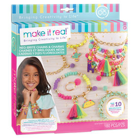 Make It Real - Neon Chains And Charms