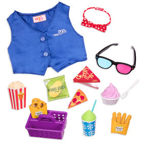 Our Generation, Cinema Snacks, Play Food Movie Accessory for 18-inch Dolls