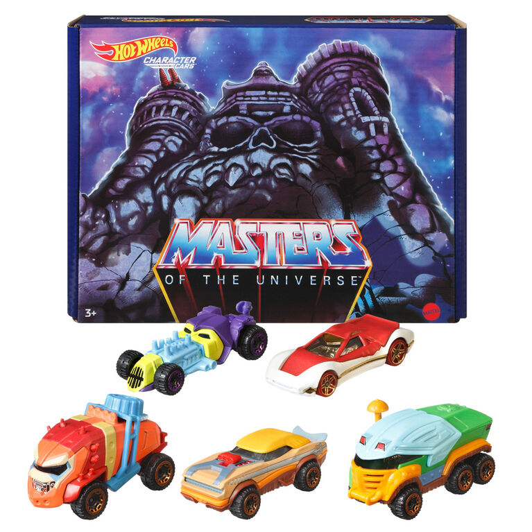 Hot Wheels Masters of the Universe Character Car 5-Pack