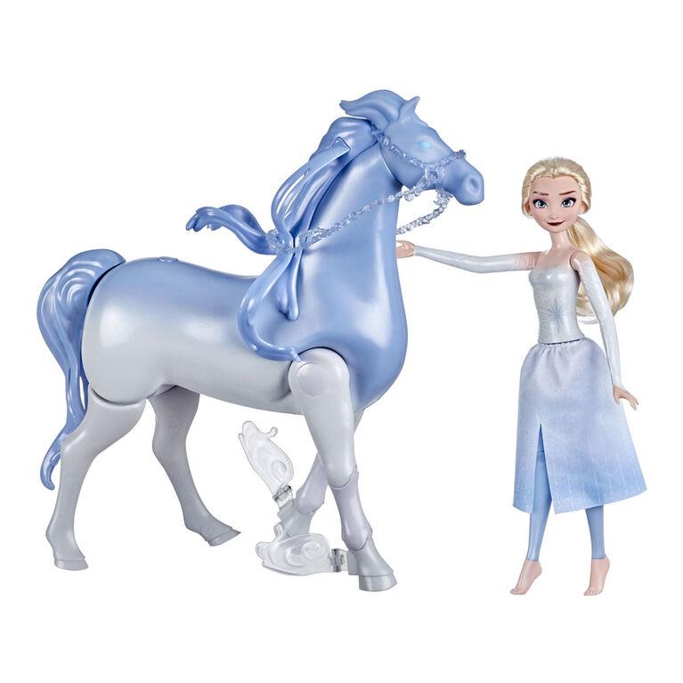 Disney's Frozen 2 Elsa and Swim and Walk Nokk, Frozen Dolls Inspired by Disney's Frozen 2