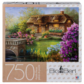 Big Ben 750-Piece Adult Jigsaw Puzzle - My Summer Hideaway