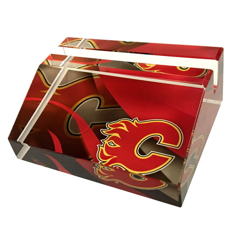 NHL Business Card Stand Calgary Flames