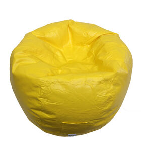 Boscoman - Large Vinyl w/Pocket Bean Bag - Yellow