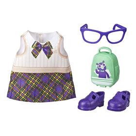 Littles by Baby Alive Little Styles Ready for School Outfit