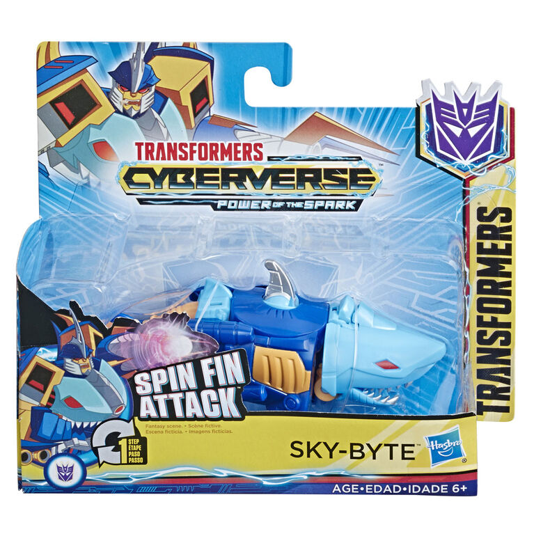 Transformers Cyberverse Action Attackers, figurine Skybyte