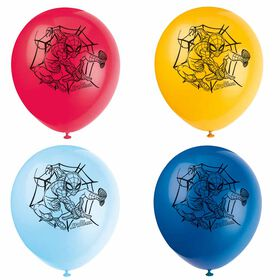 "Spider-Man 12"" Latex Balloons, 8 pieces"